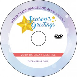 "Stage Stars Dance and Acro ""Season's Greetings,"" Friday, December 6, 2019"
