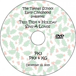 Tatnall School: Early Childhood Tree Trim, Friday, December 13, 2019