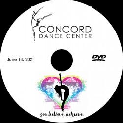 "Concord Dance Center 2021 Recital ""See, Believe, Achieve,"" Sunday, June 13 Shows"