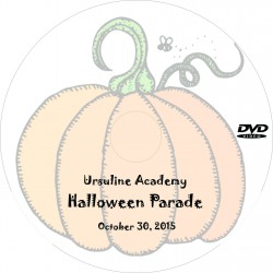 "Ursuline Academy ""Halloween Parade,"" Friday, October 30, 2015 Show DVD"
