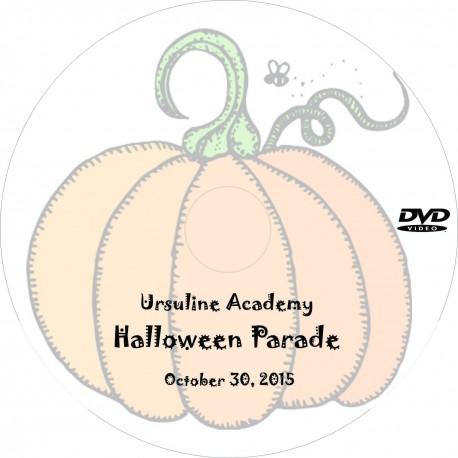 "Ursuline Academy ""Halloween Parade,"" Friday, October 30, 2015 Show DVD"