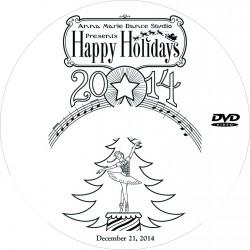 "Anna Marie Dance Studio ""Happy Holidays,"" December 20 & 21, 2014 Show DVDs"