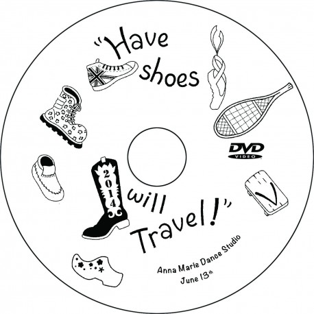 "Anna Marie Dance Studio ""Have Shoes Will Travel,"" Friday, June 13, 2014, 7:00 Recital DVD"