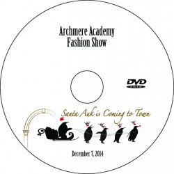 """Archmere Academy Mothers' Guild """"Fashion Show,"""" Sunday, December 7, 2014 Show DVD"""