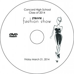 "Concord High School ""Prom Fashion Show,"" March 21, 2014 Event DVD"