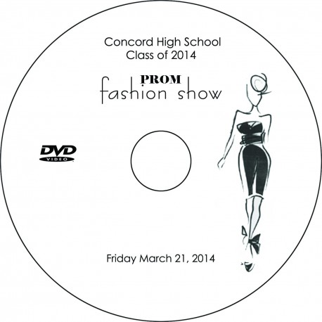 "Concord High School ""Prom Fashion Show,"" March 21, 2014 Event DVD"