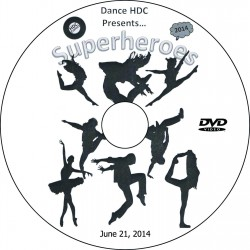 "Dance HDC at Louviers ""2014 Performance,"" June 21, 2014 Show DVD"