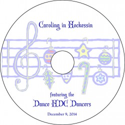 "Dance HDC at Louviers ""Caroling In Hockessin,"" Tuesday, December 9, 2014 Show DVD"