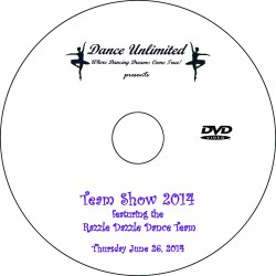 "Dance Unlimited ""Dance Team Show,"" June 26, 2014 DVDs"