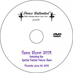 "Dance Unlimited ""Dance Team Show,"" June 26, 2014 DVDs"