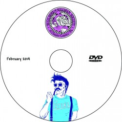 "Gilbert & Sullivan Society Chester County ""Patience,"" Saturday, February 8, 2014 Matinee Show DVD"