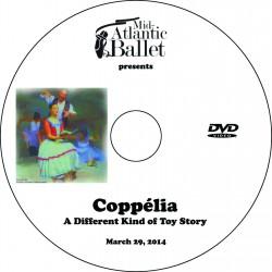 "Mid-Atlantic Ballet ""Coppelia,"" March 29, 2014, 4:00 Show DVD"