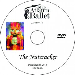 "Mid-Atlantic Ballet ""The Nutcracker,"" Saturday, December 20, 2014, 12:30 & 4:00 Show DVDs"