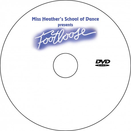 "Miss Heather's Dance School ""Footloose,"" May/June 2014 Recitals DVDs"
