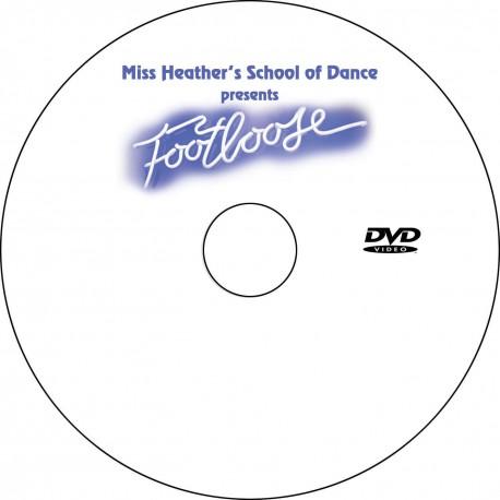 """Miss Heather's Dance School """"Footloose,"""" May/June 2014 Recitals DVDs"""