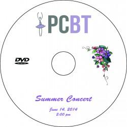 "Providence Creek Ballet Theater ""Summer Concert,"" June 14, 2014 2:00 P.M. Performance DVD"