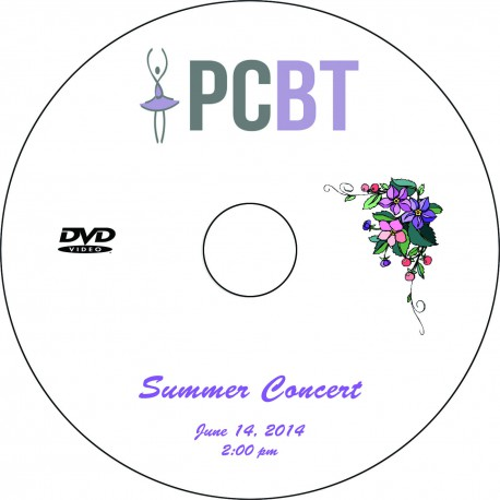 "Providence Creek Ballet Theater ""Summer Concert,"" June 14, 2014 2:00 P.M. Performance DVD"