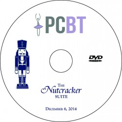 "Providence Creek Ballet Theater ""The Nutcracker,"" December 6 & 7, 2014 Show DVDs"
