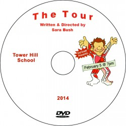"Tower Hill School 2nd Grade ""The Tour,"" Wednesday, February 5, 2014 Performance DVD"