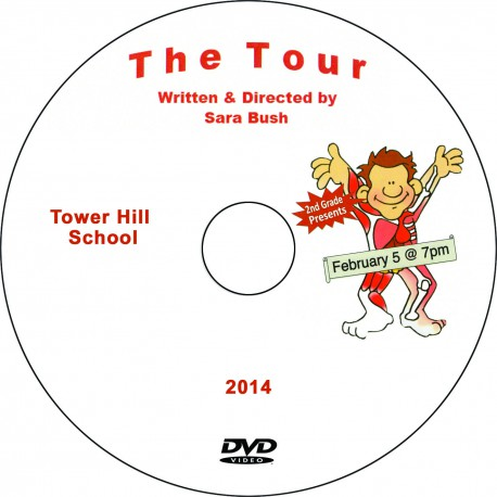 """Tower Hill School 2nd Grade """"The Tour,"""" Wednesday, February 5, 2014 Performance DVD"""