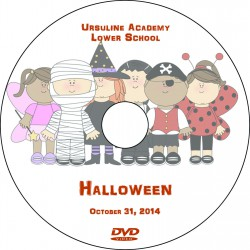 "Ursuline Academy ""Halloween Parade,"" Friday, October 31, 2014 Show DVD"