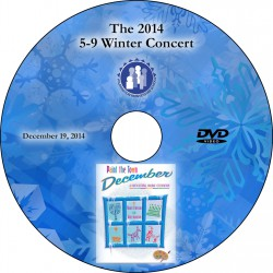 "Wilmington Montessori School ""5-9 Winter Concert,"" Friday, December 19, 2014 Show DVD"