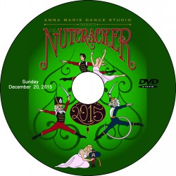 "Anna Marie Dance Studio ""The Nutcracker,"" December 19 & 20, 2015 Show DVDs"