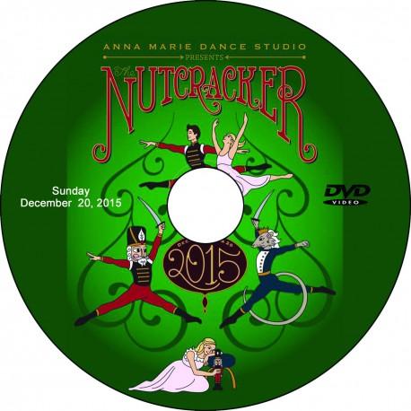"Anna Marie Dance Studio ""The Nutcracker,"" December 19 & 20, 2015 Show DVDs"