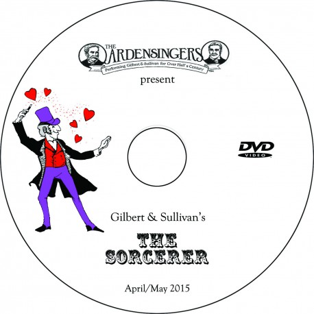 "Ardensingers ""The Sorcerer,"" Saturday, May 2, 2015 Matinee DVD"