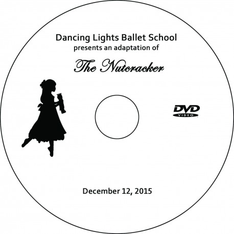 "Dancing Lights Ballet Studio ""The Nutcracker,"" Saturday, December 12, 2015 Show DVD"