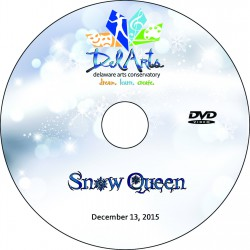 "Delaware Arts Conservatory ""The Snow Queen,"" Sunday, December 13, 2015 Show DVD"