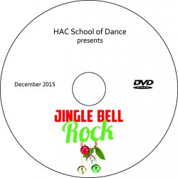 "Hockessin Athletic Club School of Dance ""Jingle Bell Rock,"" Saturday, December 5, 2015 2:00 Show DVD"