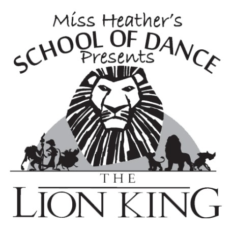 "Miss Heather's School of Dance ""The Lion King,"" Saturday & Sunday, June 11 &  12, 2016 Recital DVDs"