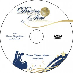 Dancing with the Delaware Stars Dance Competition, January 30, 2016, DVD