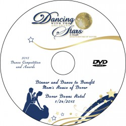 Dancing with the Delaware Stars Dance Competition, January 24, 2015, DVD