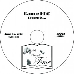 "Dance HDC ""2016 Performances,"" Saturday, June 18, 2016 1:00, 4:00 & Combo   Show DVDs"