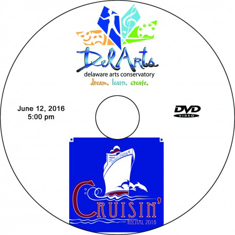 "Delaware Arts Conservatory ""Cruisin',"" Sunday, June 12, 2016, 12:00 & 5:00 DVDs"