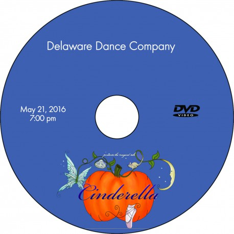 "Delaware Dance Company ""Cinderella,"" Saturday, May 21, 2016, 2:00 & 7:00  DVDs"