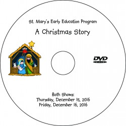 "St. Mary of the Assumption EEP ""Christmas Pageant,"" Two-Show (December 15 & 16, 2016) Combination DVD / Blu-ray"