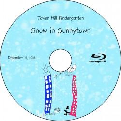 "Tower Hill School Kindergarten ""Snow in Sunnytown,"" Friday, December 16, 2016 DVD / Blu-ray"