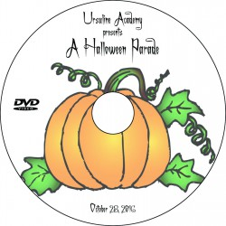 "Ursuline Academy ""Halloween Parade,"" Friday, October 28, 2016 DVD / Blu-ray"