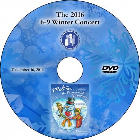 """Wilmington Montessori School """"6-9 Winter Concert,"""" Friday, December 16, 2016 DVD"""
