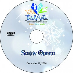 "Delaware Arts Conservatory ""The Snow Queen,"" Sunday, December 11, 2016 DVD / Blu-ray"