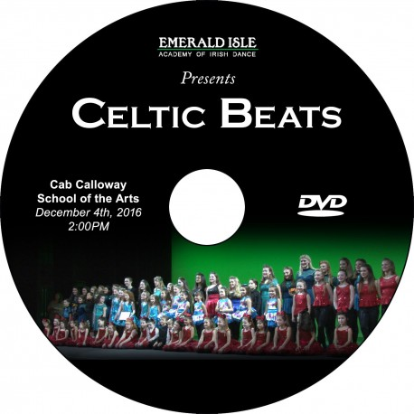 "Emerald Isle Academy of Irish Dance ""Recital 2016,"" December 4, 2016 DVD / Blu-ray"