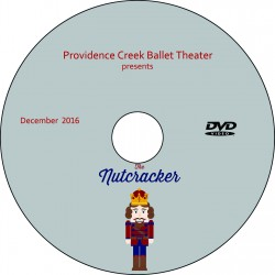 "Providence Creek Ballet Theater ""The Nutcracker,"" Saturday & Sunday, December 10 & 11, 2016 DVDs / Blu-rays"