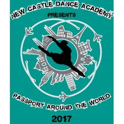 "New Castle Dance Academy ""Passport Around The World,"" Saturday, June 10th, 2017, 2PM & 6PM Shows DVD/Blu-ray"