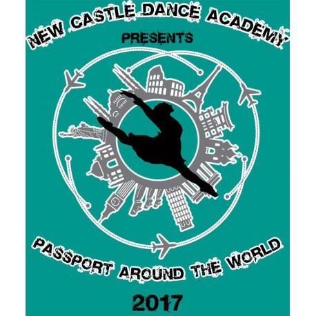 "New Castle Dance Academy ""Passport Around The World,"" Saturday, June 10th, 2017, 2PM & 6PM Shows DVD/Blu-ray"