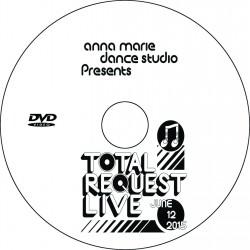 "Anna Marie Dance Studio ""trl (Total Request Live),"" Friday, June 12, 2015 Recital DVD"