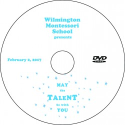 "Wilmington Montessori School ""Talent Show,"" Thursday, February 2, 2017 Evening Show DVD / Blu-ray"