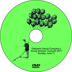 "Delaware Dance Company ""2017 Young Dancers' Concerts,"" Sunday, June 11, 2017, 1:00 & 4:00 DVD / Blu-ray"